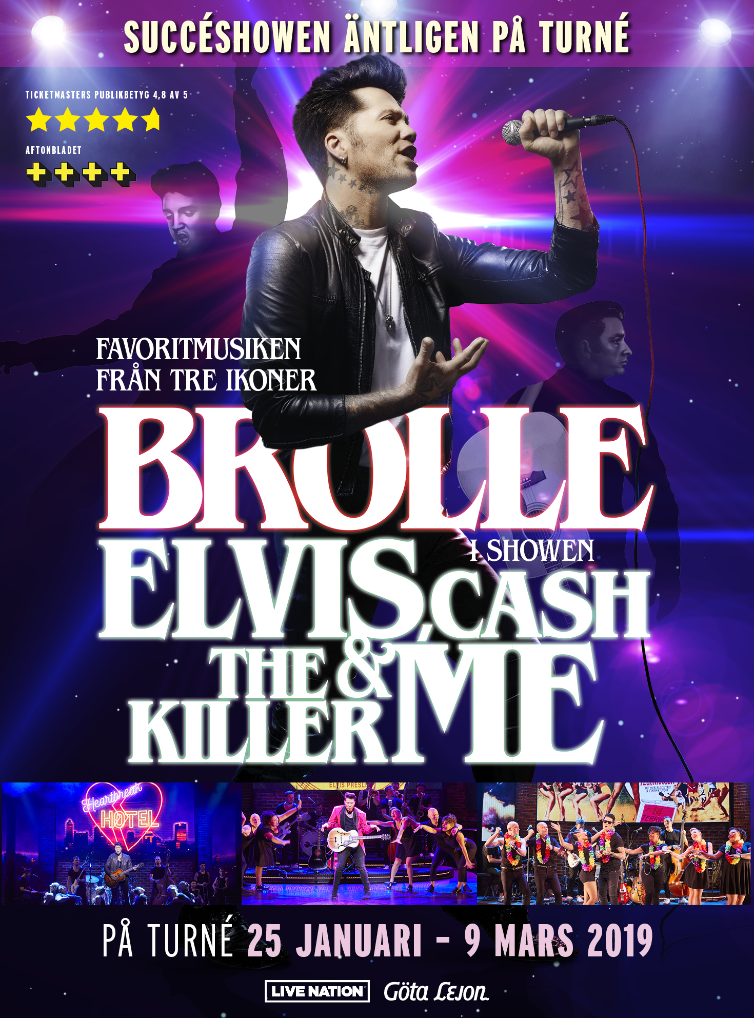 Brolle – Elvis, Cash, The Killer & me